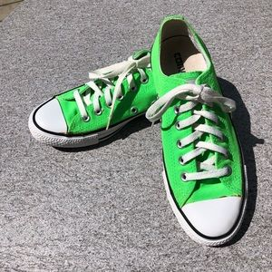 Converse All-Star Green Sneakers Size 7